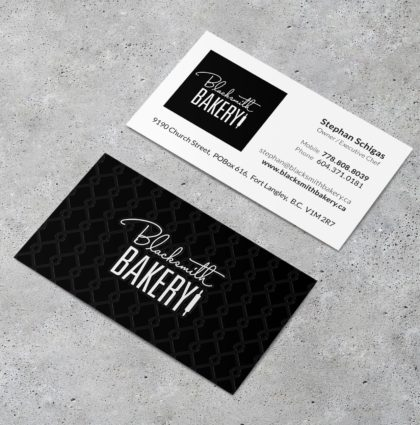 Blacksmith Bakery Branding