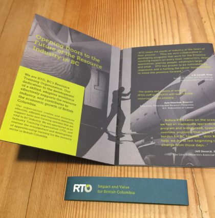 RTO – Impact & Value Custom Gatefold Booklet