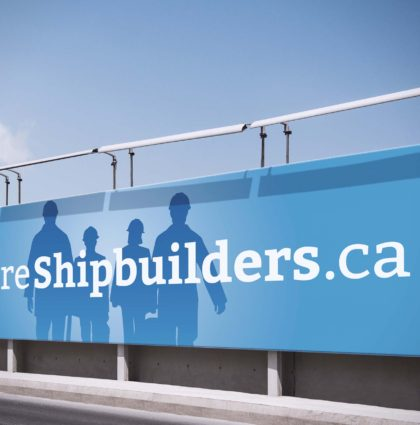 We Are Shipbuilders Campaign Branding