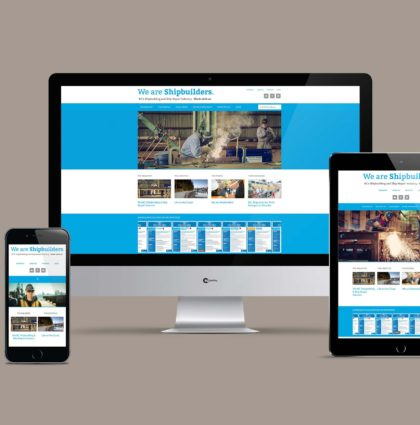 We Are Shipbuilders Website