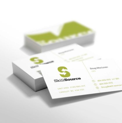 SkillSource – Branding & Print Collateral